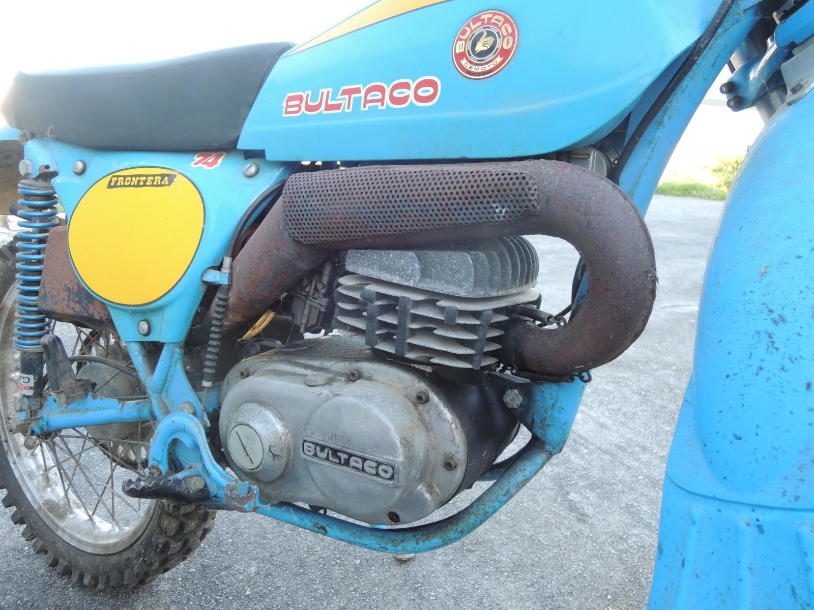 Bultaco Frontera - La Fronterita De Rafa 2uz7cbb