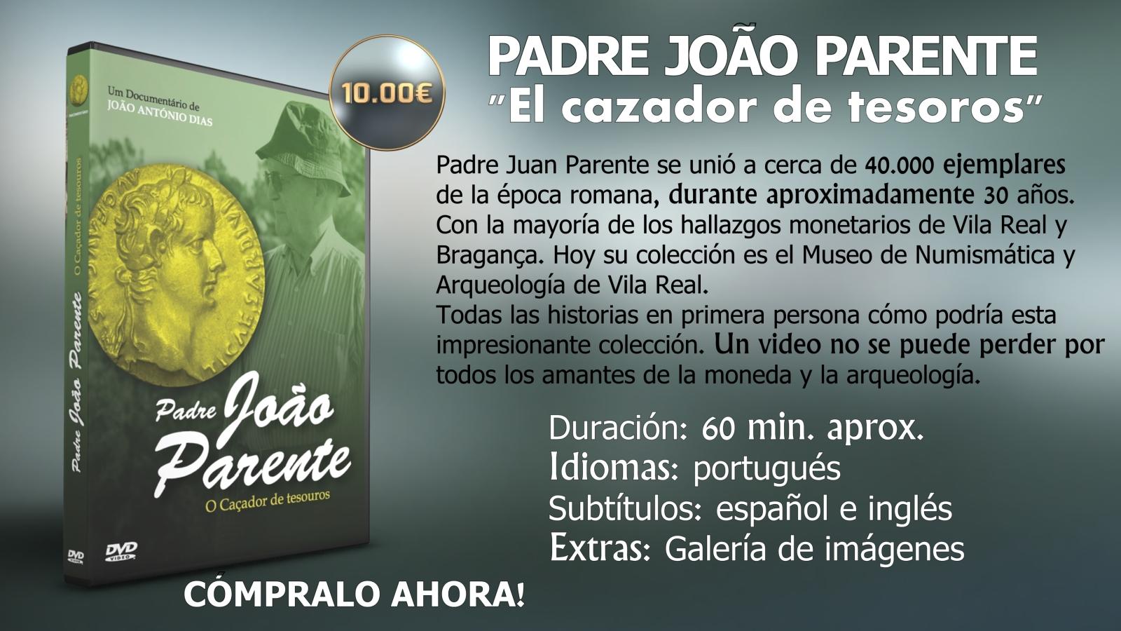 YA DISPONIBLE EL DVD PADRE JOAO PARENTE EL CAZADOR DE TESOROS 2vnj5f4