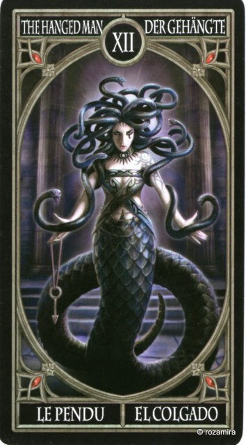 Готическое Таро Анны Стокс /Anne Stokes Gothic Tarot   (скан карт) 2wdn5p1
