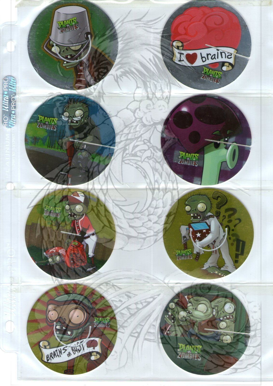 Tazos Plantas Vs Zombies de SABRITAS 2wqvqja