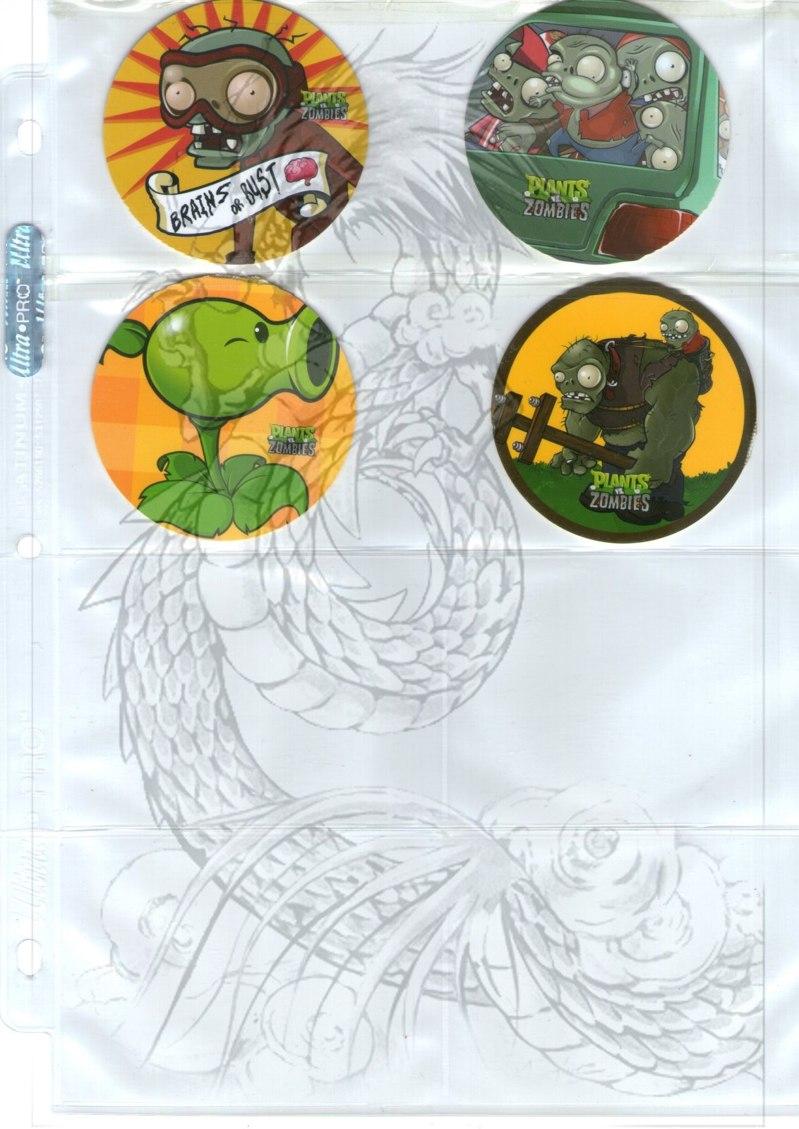 Tazos Plantas Vs Zombies de SABRITAS 2yv2m1j