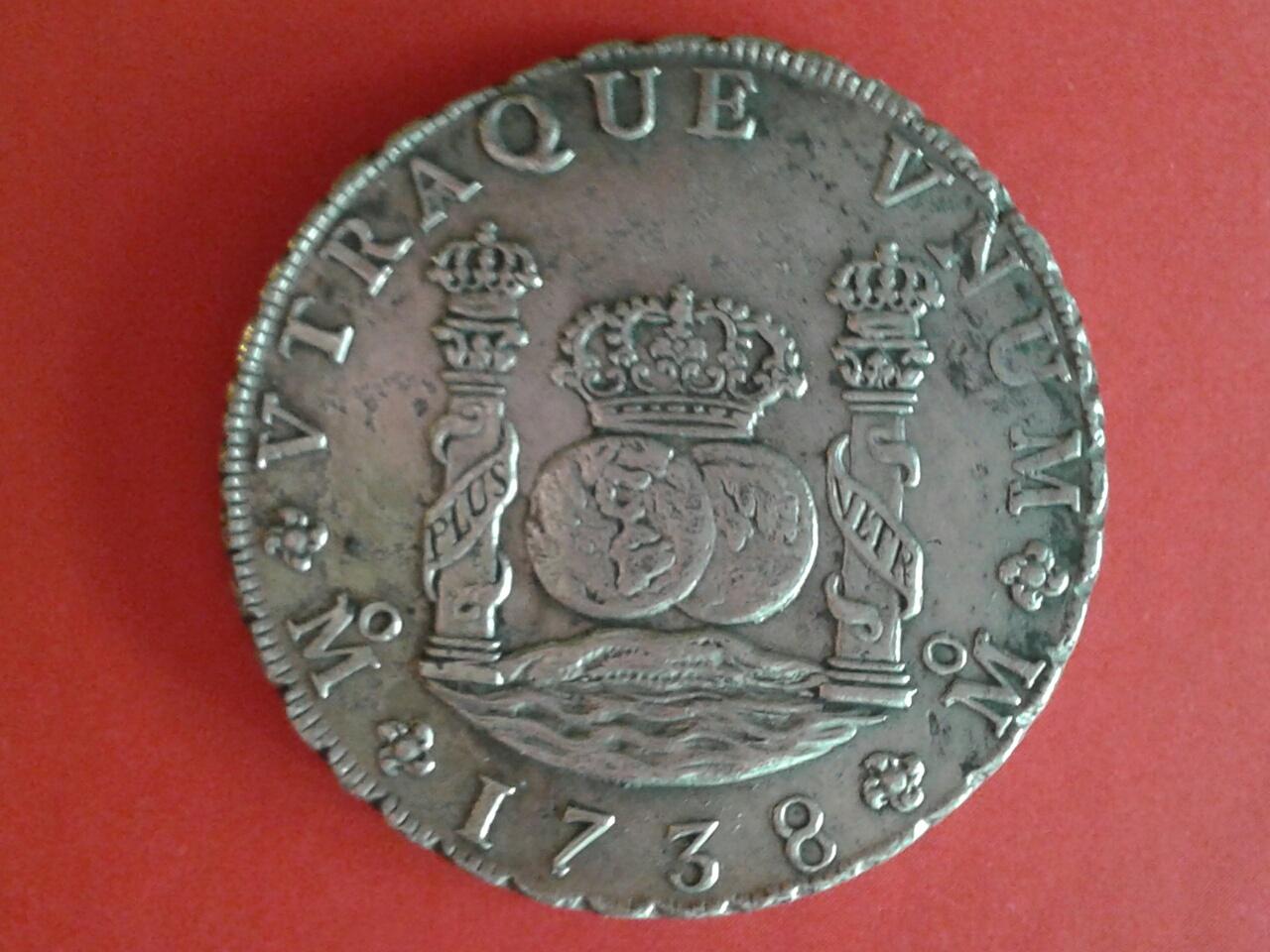 8 Reales Felipe V, México. 1738 2zpmjko