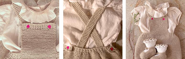 Patrón pantalón-peto para bb 301n4ar