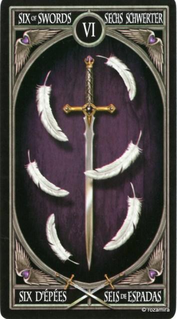 Готическое Таро Анны Стокс /Anne Stokes Gothic Tarot   (скан карт) 303by85