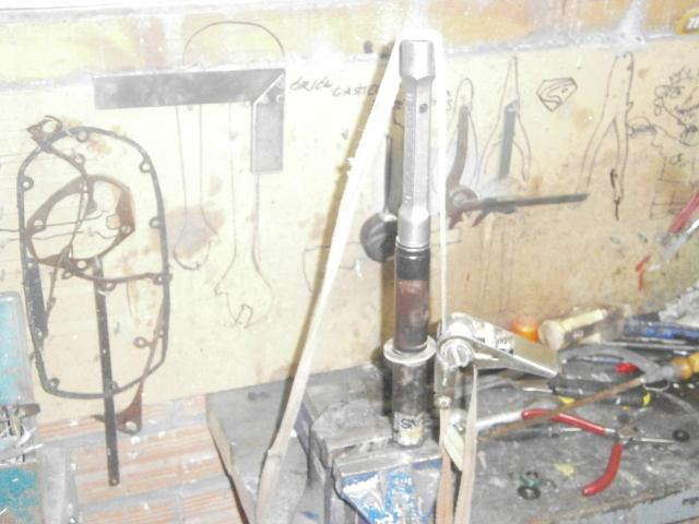 Intento de reparación amortiguadores Cobra MC 312uwcg