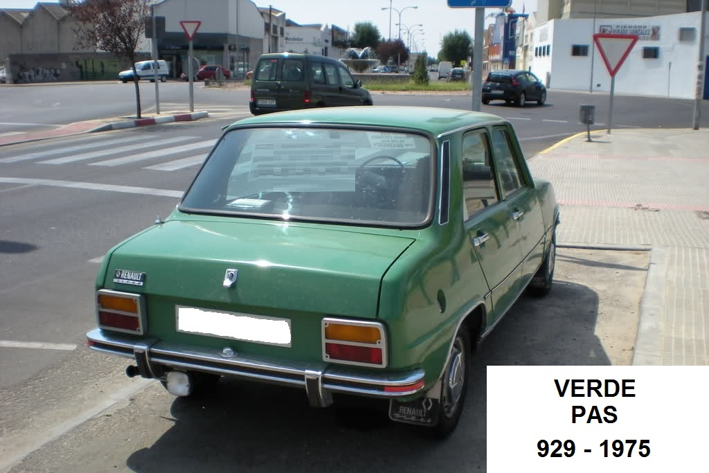 Los colores de los Renault Siete y 7 33k4qzd