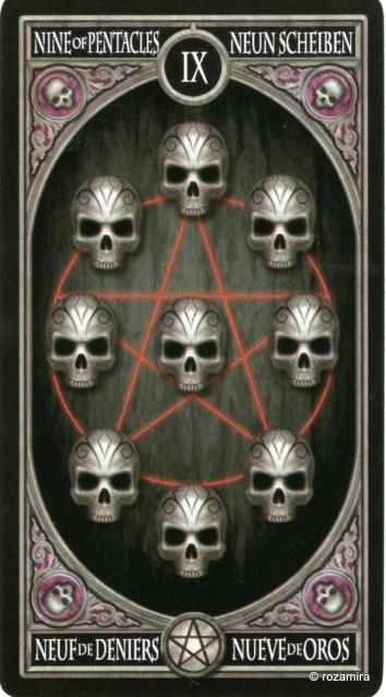 Готическое Таро Анны Стокс /Anne Stokes Gothic Tarot   (скан карт) 34sngp5