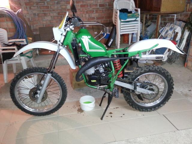 Mi nueva adquisición Rieju MR80 Verde 352nhvp