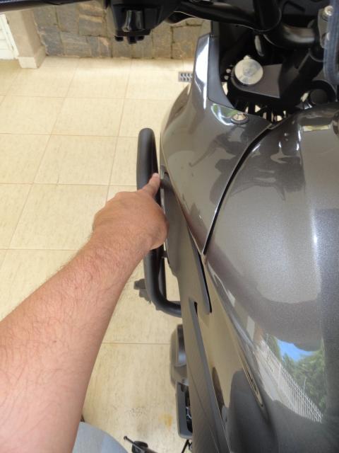 Protetor motor Chapam com pedaleiras 4se99g