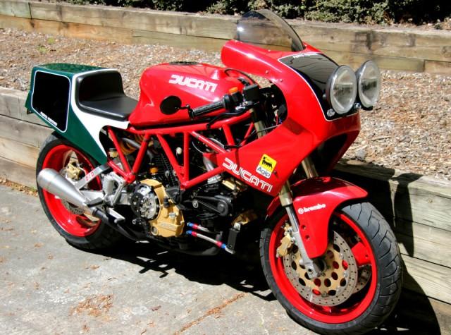 Mi Ducati Pantah 600 Endurance 518pjd