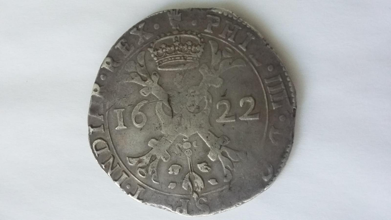1 patagón 1622. Felipe IV. Amberes 5u3c6q
