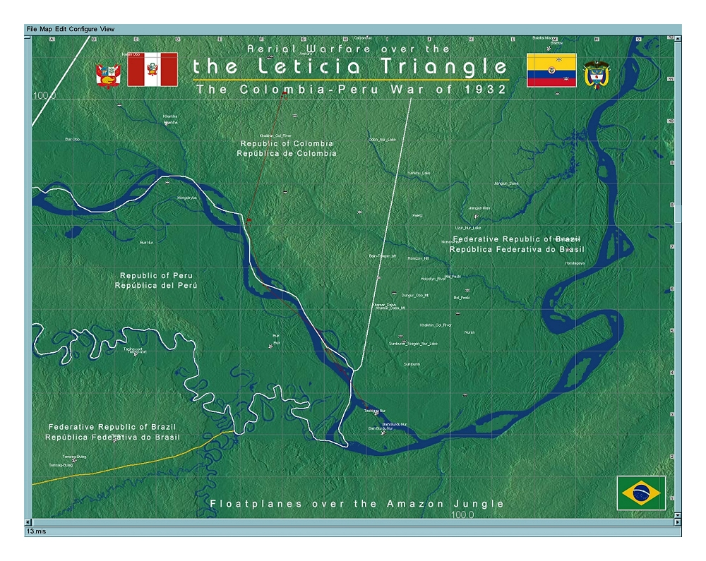guerra peru-colombia en il2 5y98iw