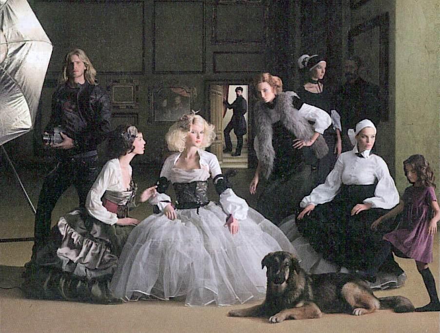 Demanda de ayuda para la recreación de un famoso cuadro español:  las Meninas de Vélasquez 640754