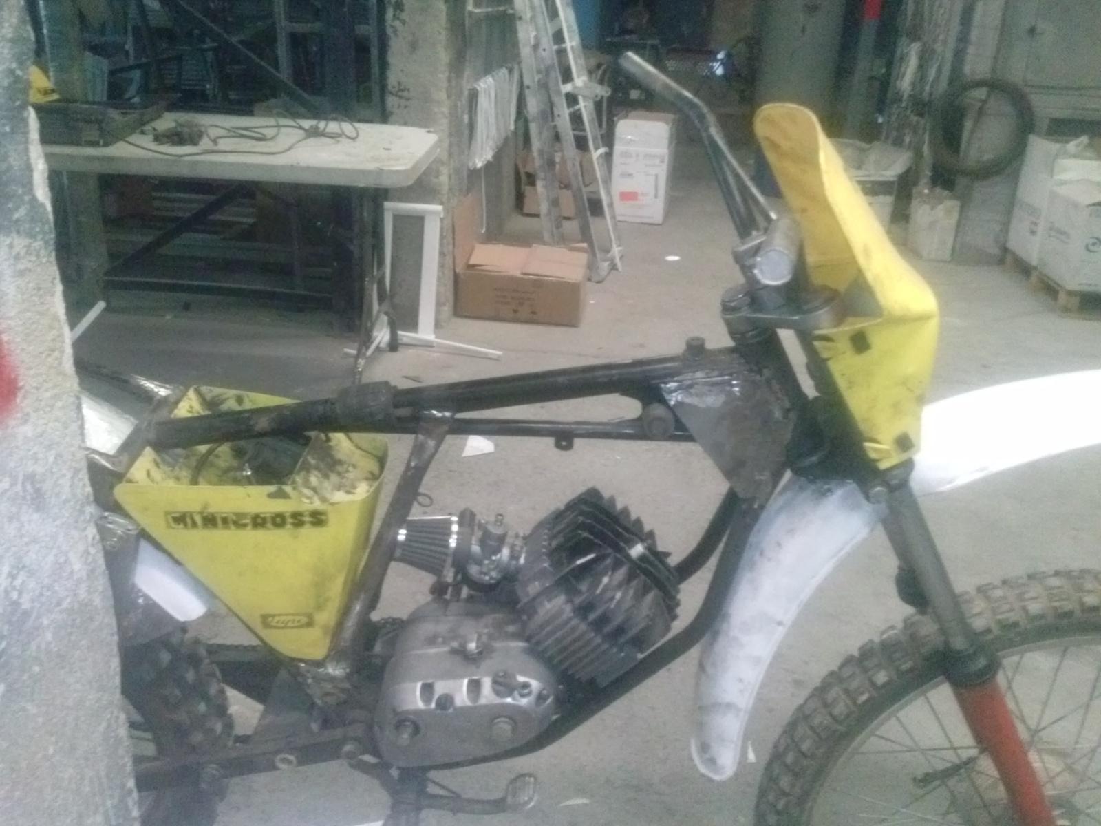 Puch Minicross Super con preparacion Cobra 66jc4j