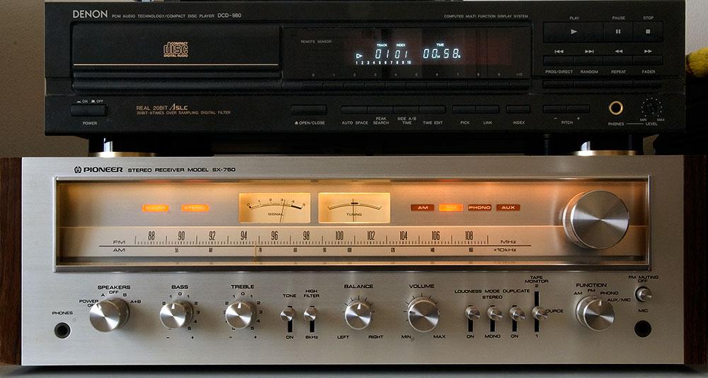 Pioneer SX-750 6rk9s5