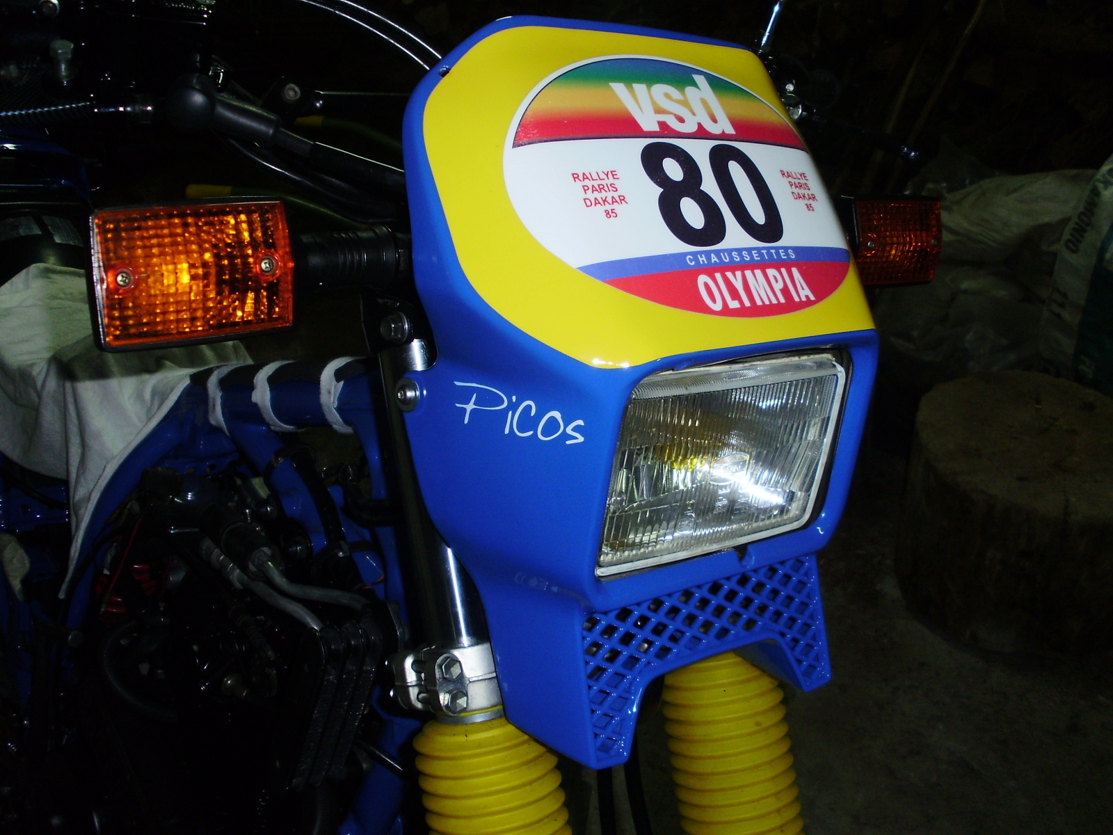 Yamaha xt600z Tenere replica dakar 1985 ( Jean Claude Olivier ) - Página 4 6s74vt