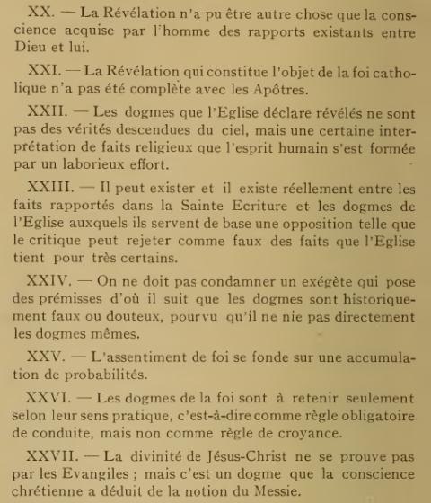 Décret «Lamentabili sane exitu» de Saint Pie X, du  3 juillet 1907 9gk3tu