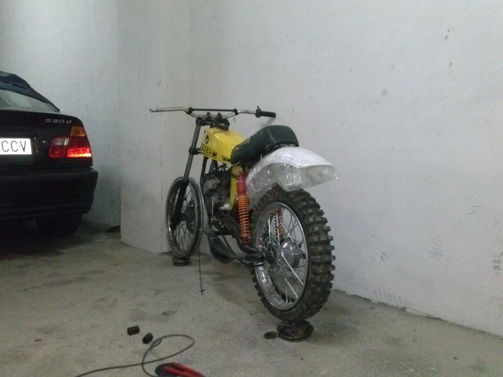 Puch Minicross Super con preparacion Cobra 9h3l2d