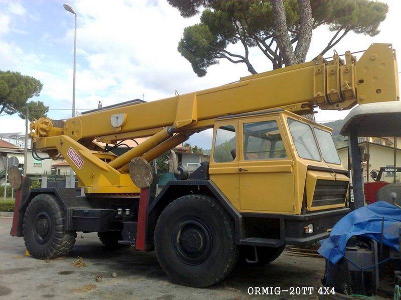 Les grues de ORMIG (Italie) 9kqrtx
