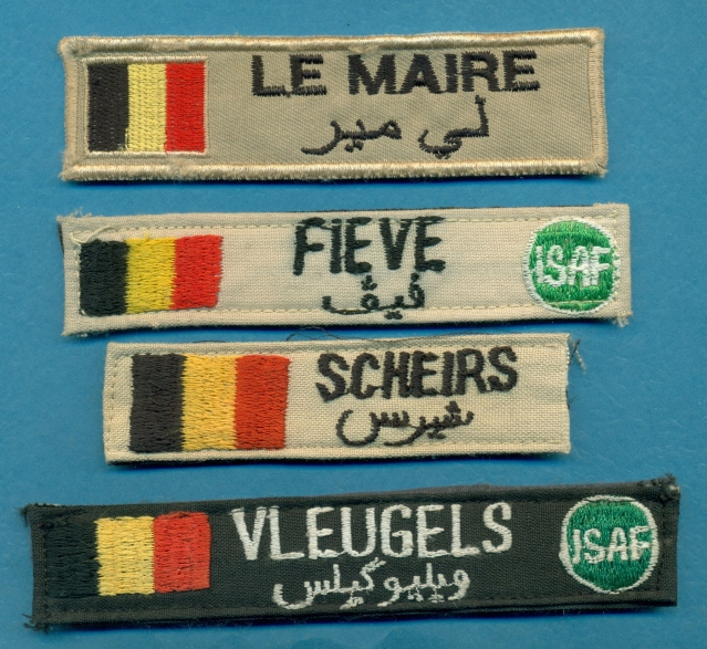 Some New Belgian Insignia and Armbands (ISAF, UN, etc) 9qdzdt