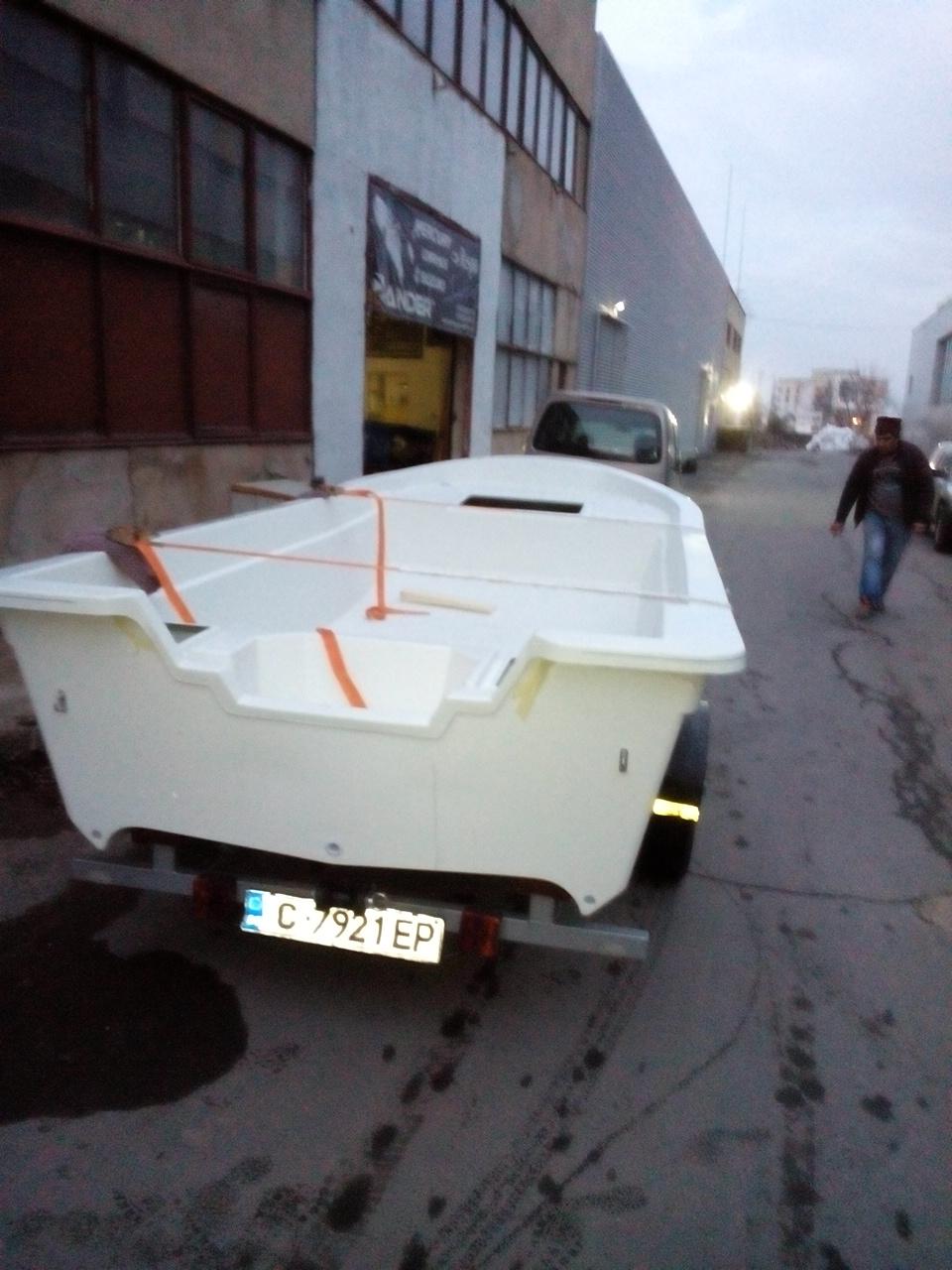 Стъклопластов тримаран Made in Bulgaria 9th91c