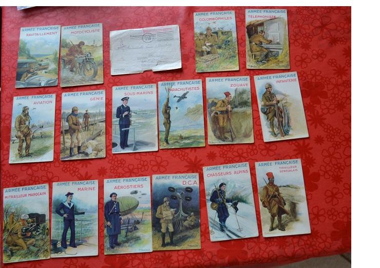 Les Cartes Postales 1940 de Paul Barbier Av1tok