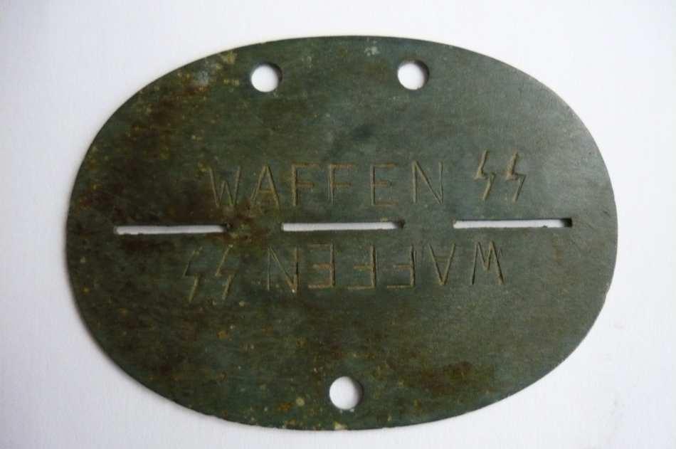 plaques matricules de la Waffen ss  Dljqc6