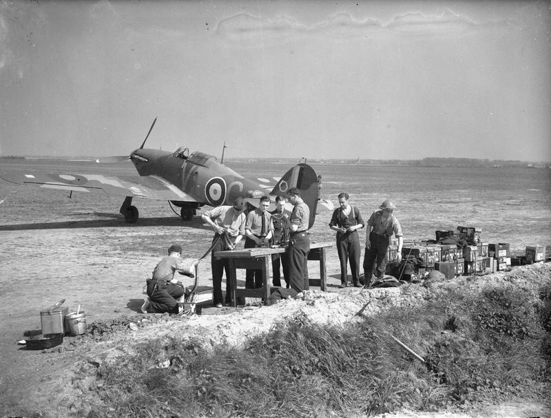 Hawker Hurricane MkI 1/72 airfix Dxxyyx