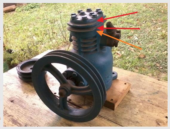 Ayuda:  para desarmar el cabezal de un compresor marca DELFAR E7armt