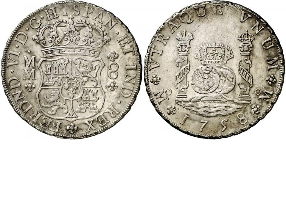 8 REALES CARLOS III -1771 - MÉXICO Fl9c2a