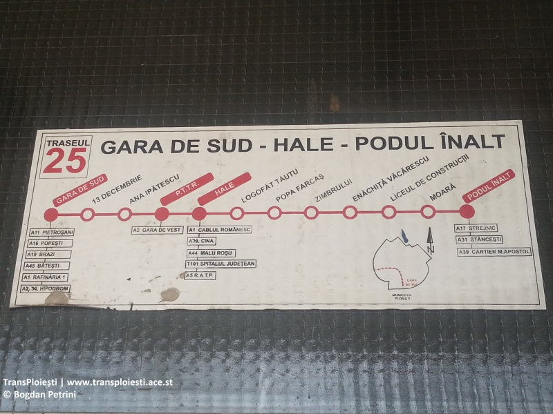 SC TCE SA: Harta traseelor I213r6