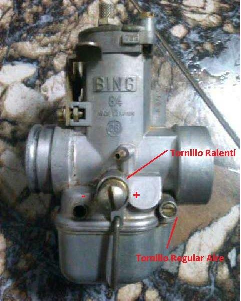 Puch Cobra M-82 Aire - Carburar Bing 84 - 26 Jpucsw