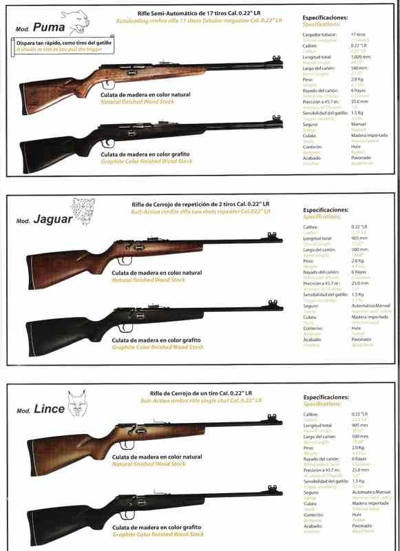 Rifle Mexicano Puma calibre .22 K0j87k