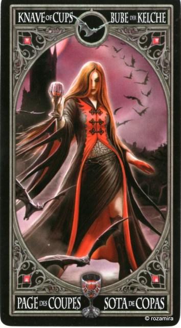 Готическое Таро Анны Стокс /Anne Stokes Gothic Tarot   (скан карт) M97tdx