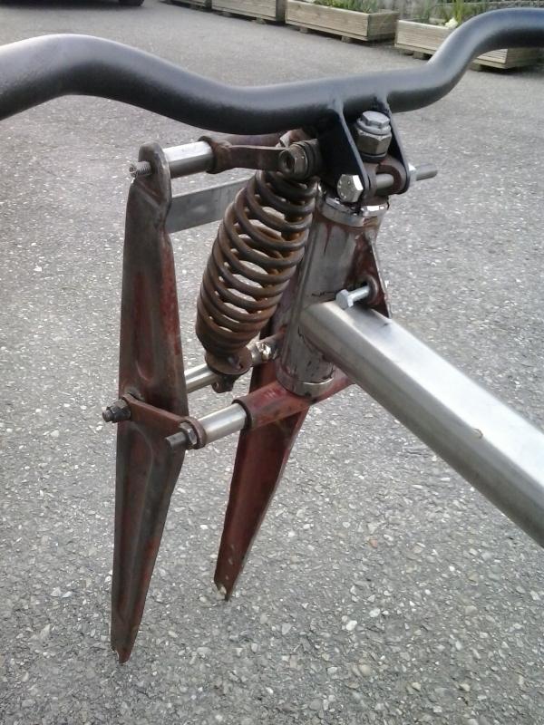 Bicicleta eléctrica a partir de moto Guzzi (+sidecar??) Maa49k