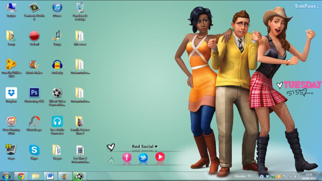 [Descarga] Fondos de pantalla de los Sims 4 Mhemnd