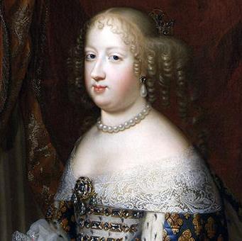 Jetón francés de María Teresa de Austria, esposa de Luis XIV. COELESTES SEQVITVR MOTVS Mx0s53