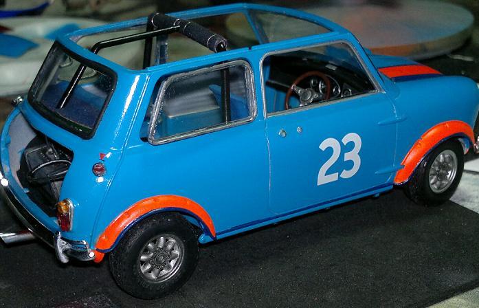 "Mini Morris racing 1/24 o ""la tarea"" N50ndc"