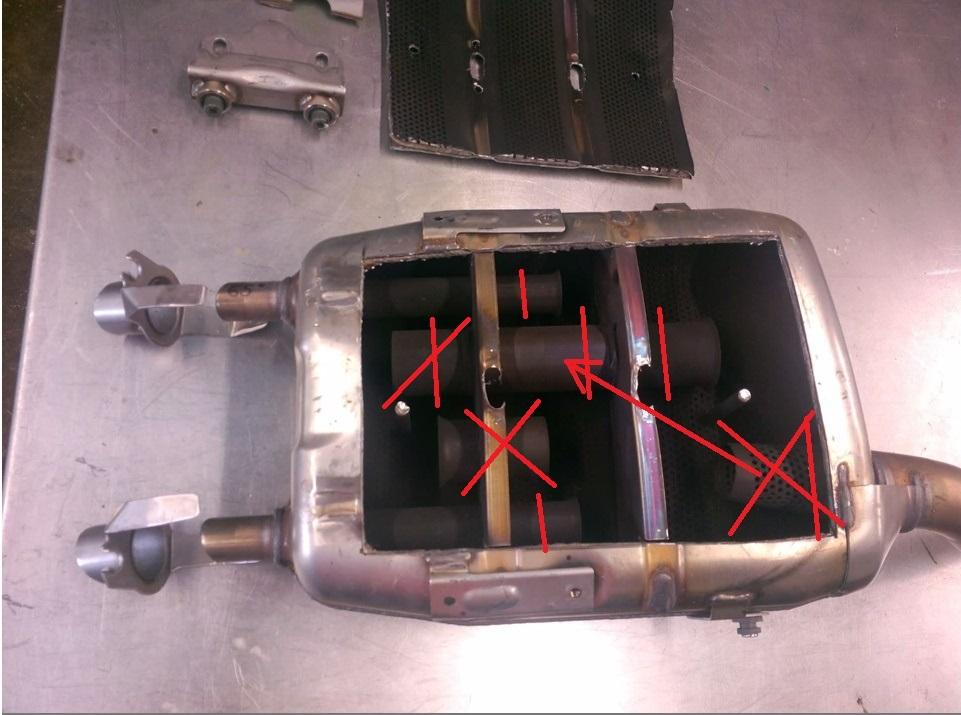 Modificação de escape original FZ6 Ng28zs
