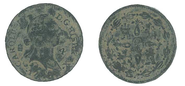 4 maravedís de Carlos III, ceca de Segovia. 1788 Nnuwk8