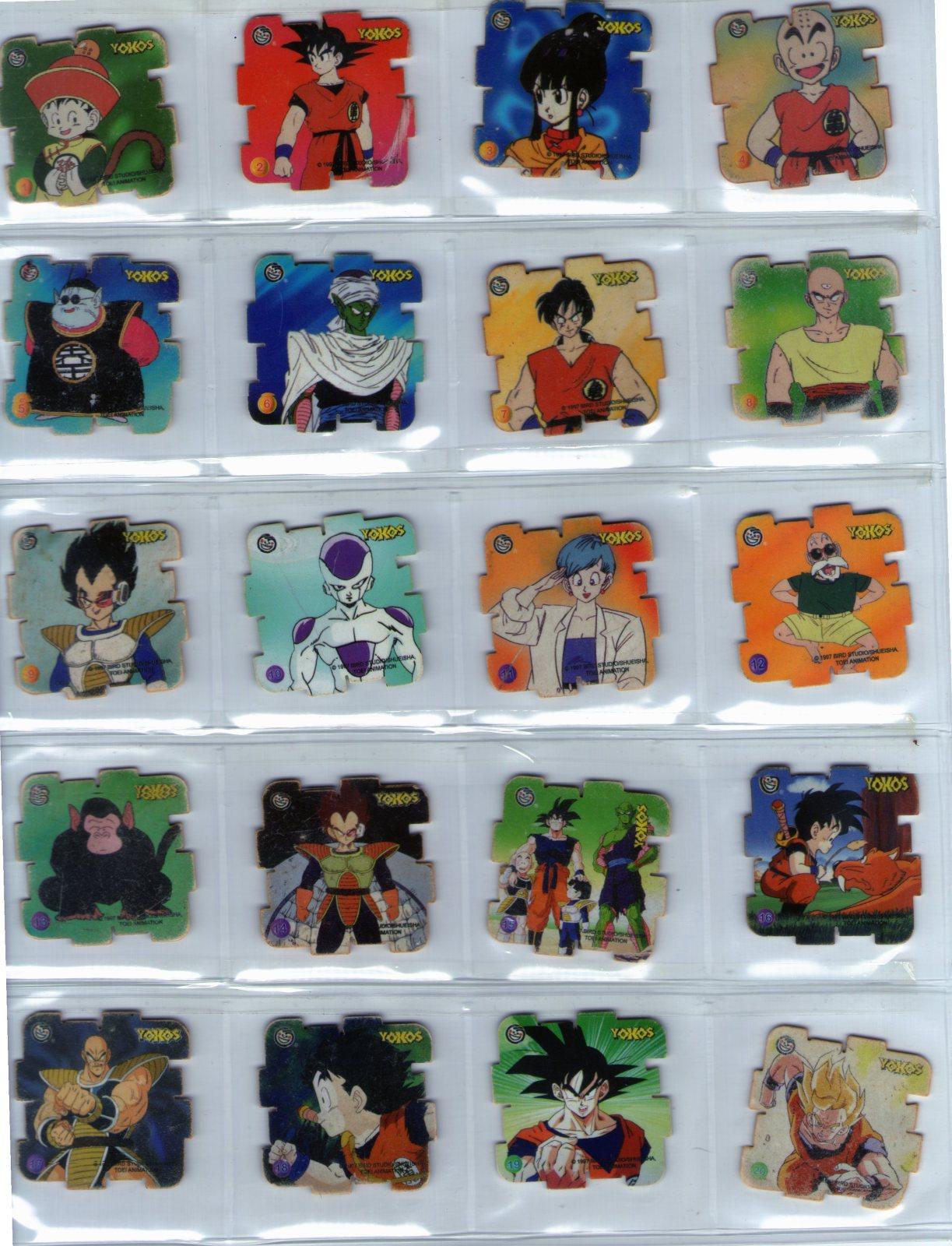 Yokos Dragon Ball Z de SABRITAS Of1y89