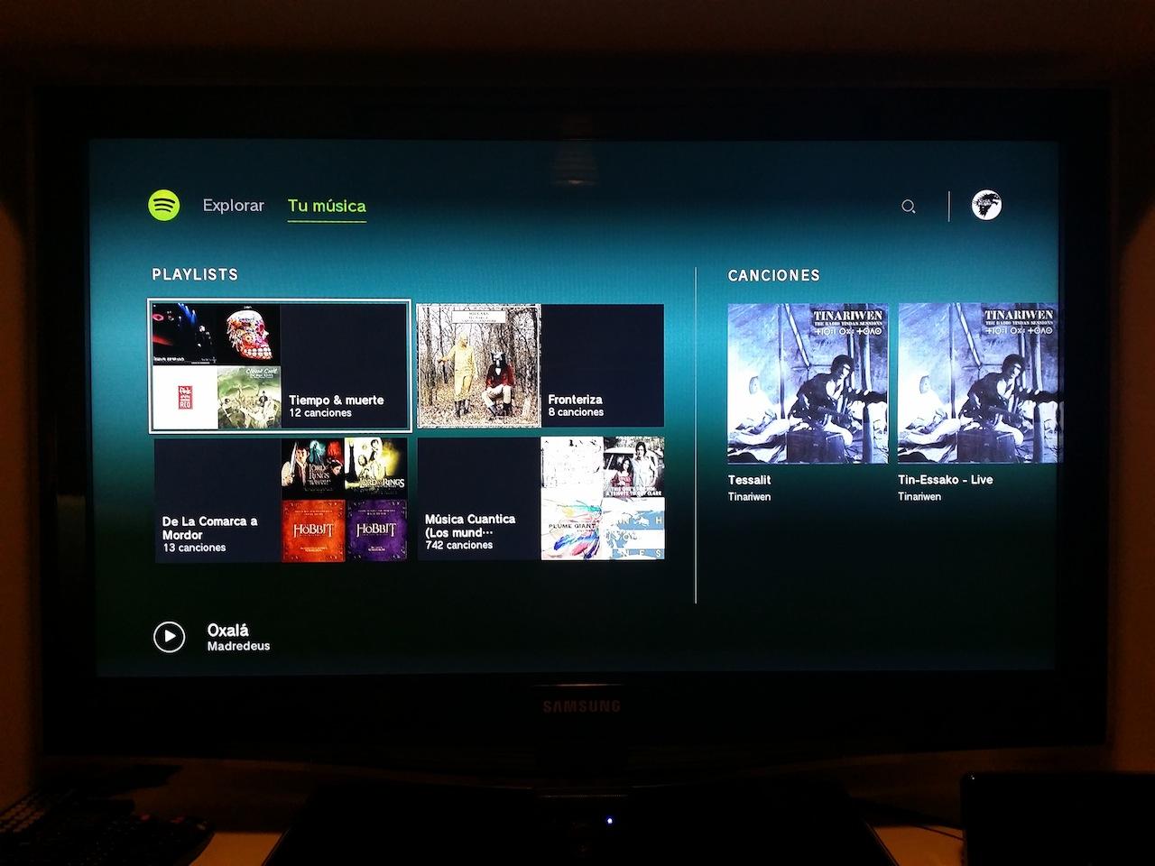 Spotify disponible para Playstation 3 y 4 Oh4bpj