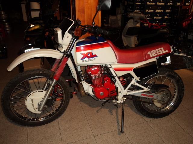 Honda XL 125 Qo80e8