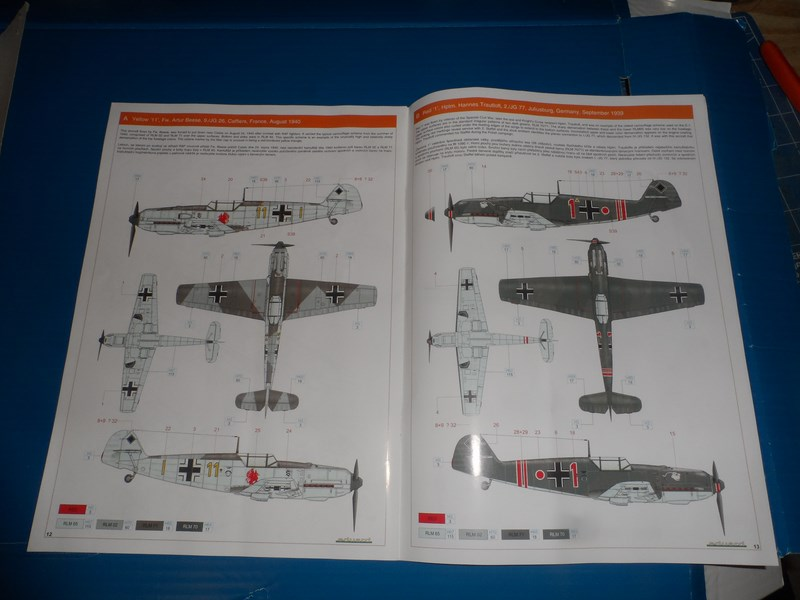 Me Bf 109E-1 Eduard Profipack 1/32ème R02rma