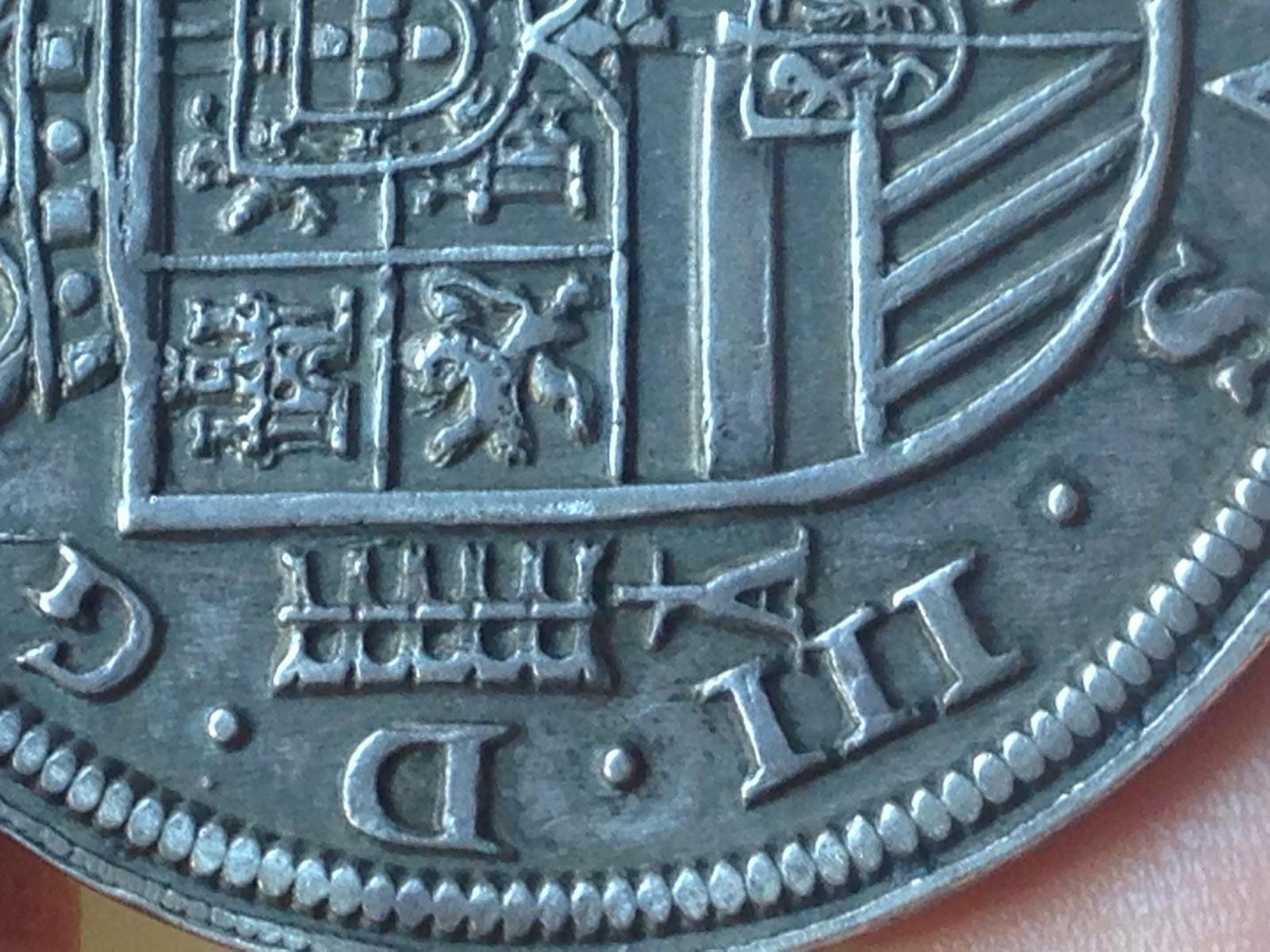 8 reales de 1617, Felipe III, Segovia  So0ltt