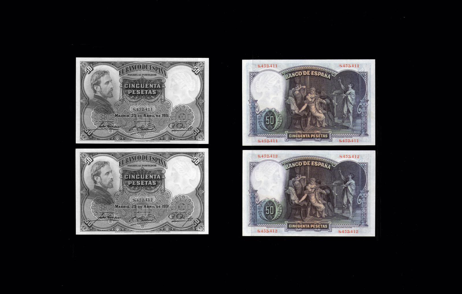50 pesetas 1931 ( Rosales ) So8exg