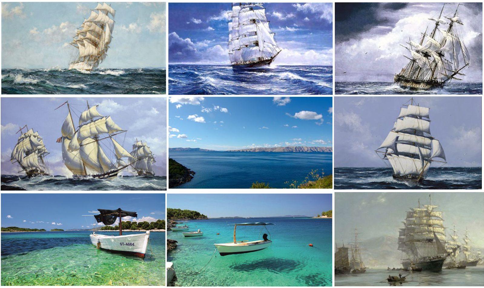 Background slike sa plovećim motivima hrvatskom obalom T4xywy