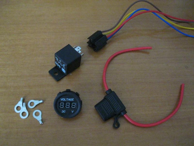τοποθέτηση λάμπες led και βολτόμετρο. συμπεράσματα.  T8b66p