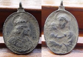 San Louis de Francia - Virgen con Niño, S. XVIII Vgt0z4