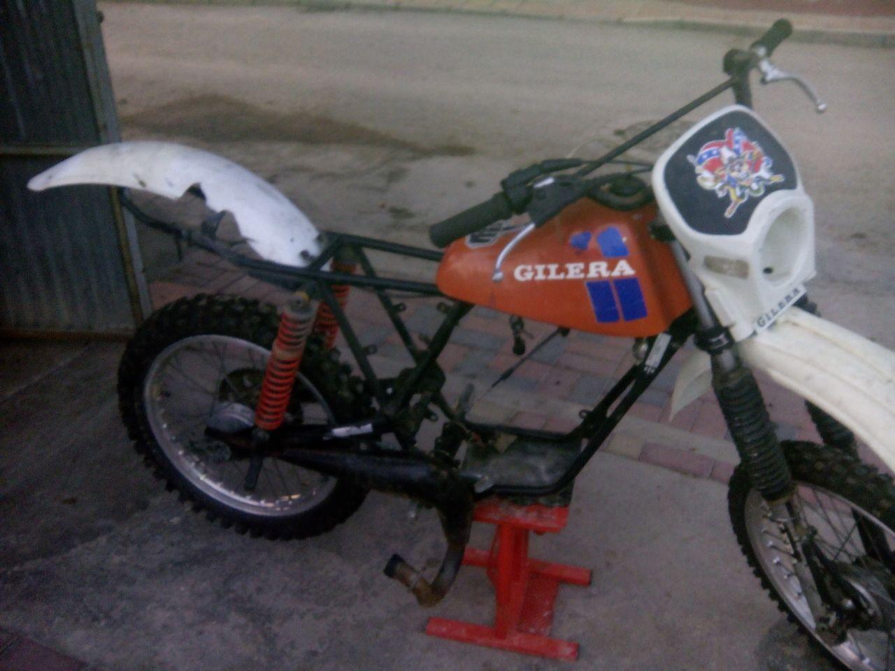 Identificar motor Gilera Vmx3k7